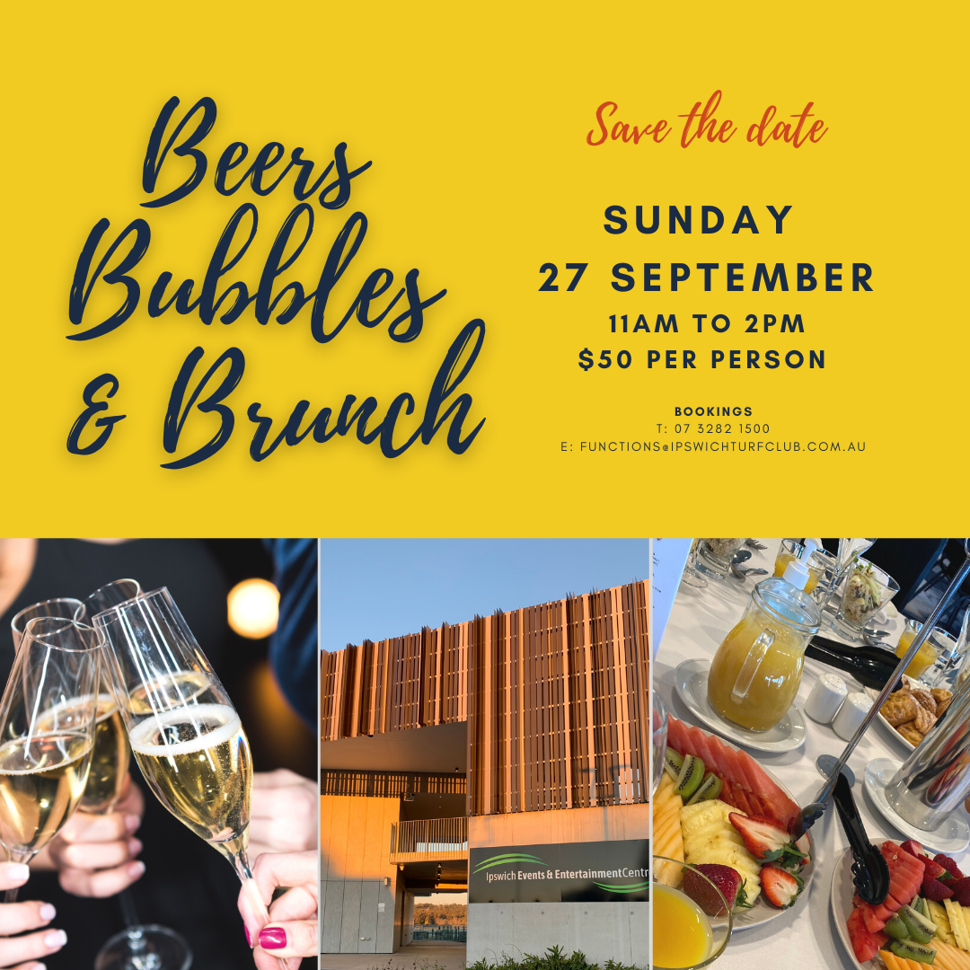 Beers Bubbles & Brunch: Sunday, 27 September 2020